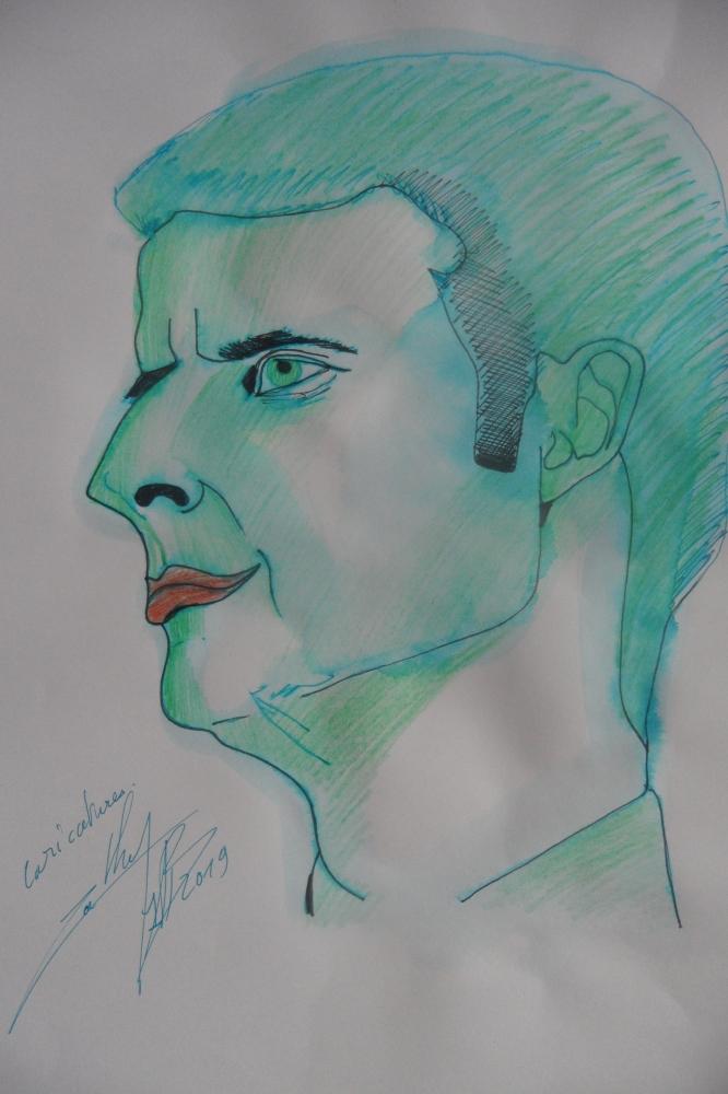 Emmanuel Macron by kathy